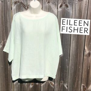 Eileen Fisher Linen Top L